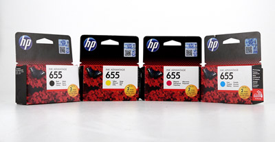 HP Deskjet Ink Advantage 5525, картриджи